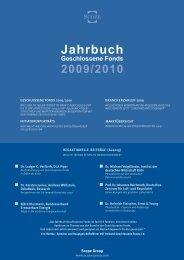 Jahrbuch Geschlossene Fonds 2009/2010 - Scope