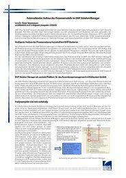 Automatische Evaluierung von Geschäftsprozessen für den SAP ...