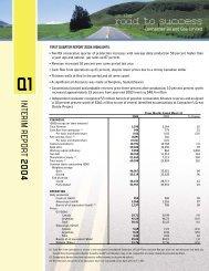 INTERIM REPORT 2004 - Connacher Oil and Gas