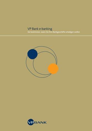 VP Bank e-banking