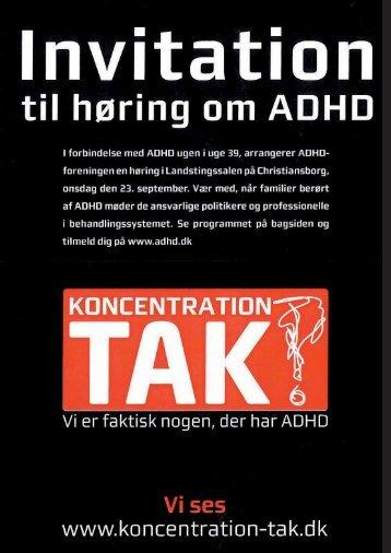 g - ADHD: Foreningen
