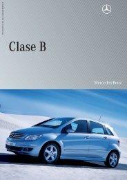 Especificaciones técnicas CLASE B