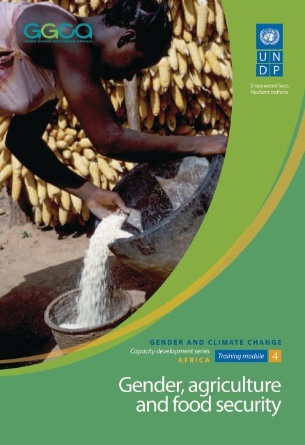 Module 4: Gender, Agriculture and Food Security - Gender Climate
