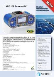 MI 3108 EurotestPV - Metrel