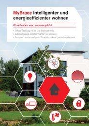 MyBrace intelligenter und energieeffizienter wohnen - HomeBrace