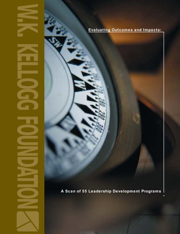 Evaluating Outcomes and Impacts - Leadership Learning Community