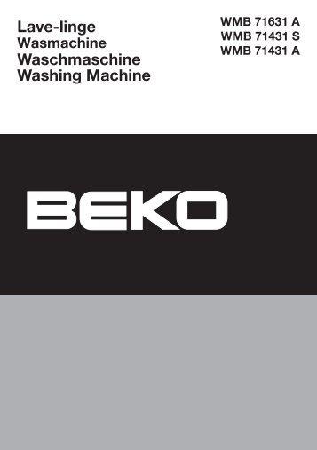 Beko WMB 61632