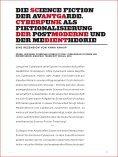 Aktuelle Tendenzen der Cyberpunk-Lite- ratur - Kobuk - Zeitschrift ... - Seite 6
