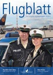 Flugblatt - Flughafen Stuttgart