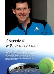 Courtside with Tim Henman - Swiss News