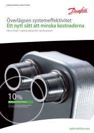 värmeväxlare för värmesystem - Danfoss Värme