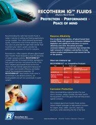 Product Brochure - Recochem Inc.