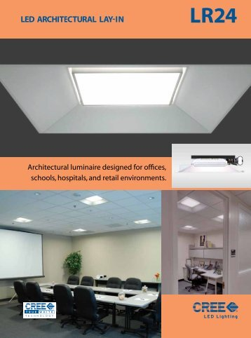 LR24 High Ceiling LED Architectural Lay-In (PDF) - Tachibana ...