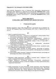 Załącznik Nr 1 do Uchwały Nr 106 /III/2013 KRDL Tekst jednolity ...