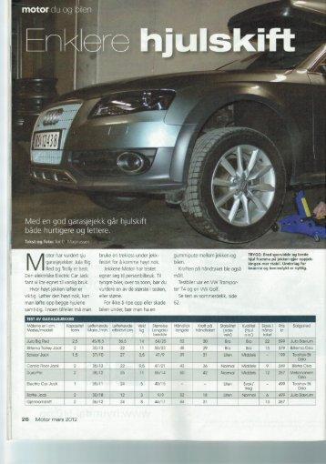 Motor, mars 2012 - Biltema