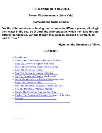 essay on vivekananda As naren grew, his sharp intellect and spirit of inquiry began to raise many doubts about the existence of god the meeting with sree ramakrishna changed naren's life he felt deeply drawn to sri ramakrishna need essay sample on swami vivekananda we will write a custom essay sample for only.