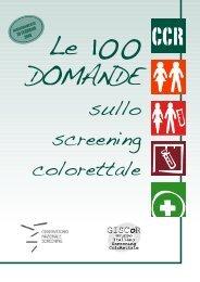 introduzione alle 100 domande sullo screening colorettale