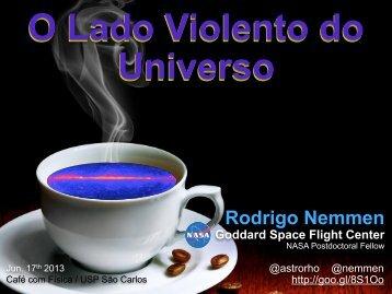 Rodrigo Nemmen - IFSC - USP