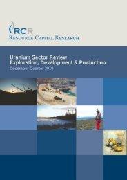 Resource Capital Research - Baystreet.ca