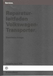 Elektrische Anlage - VW-BUS.ru
