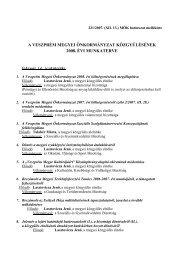 Bővebben... - Veszprém megye honlapja