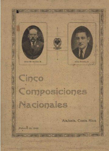 Cinco composiciones nacionales - Sinabi