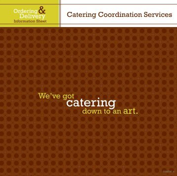 view our customary menu portfolio