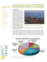 MIAMI-DADE COUNTY, FLORIDA - ICLEI Local Governments for ...