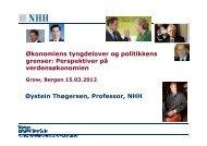 Øystein Thøgersen - Business Region Bergen