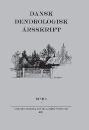 Volume 3,1 (1968) - Dansk Dendrologisk Forening