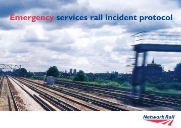Emergency Services Rail Incident Protocol - British Transport Police