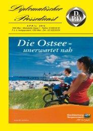 APRIL 2 0 1 3 1050 Wien - Nikolsdorfer Gasse 1 - Diplomatischer ...