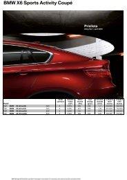 BMW X6 Sports Activity Coupé