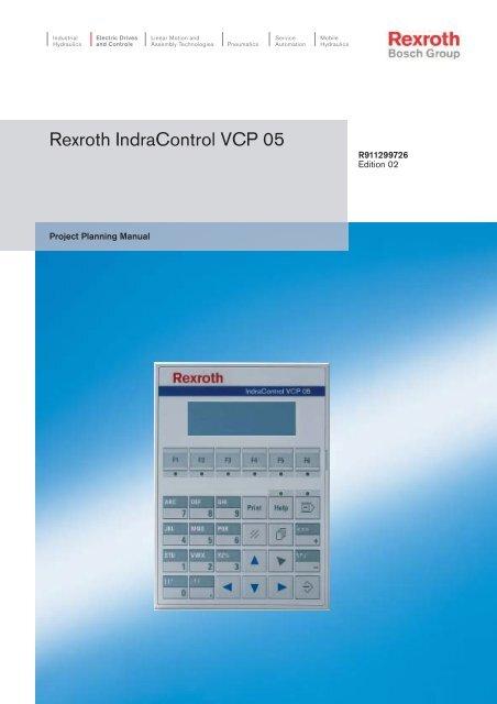 rexroth vfd manual