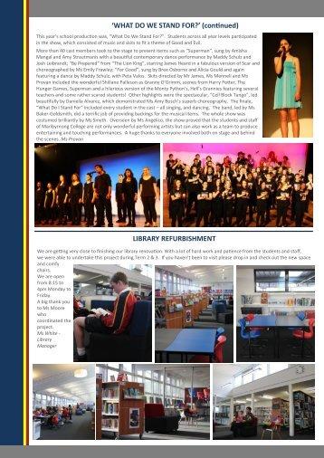 Term 3, 2013 Part 2 - Maribyrnong College