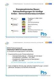 606 KB - Energetische Sanierung der Bausubstanz - EnSan