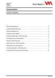 Richtlinien(PDF, 1.5 MB) (öffnet neues Fenster) - Departement Bau ...