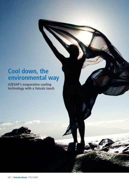 Cool down, the environmental way - Vaisala