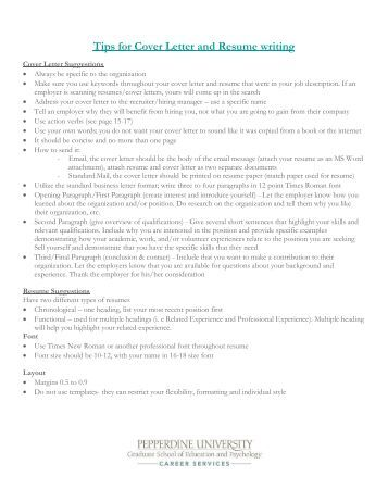 cover letter university application