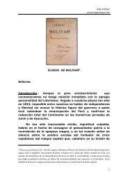 Elogio de Bolivar - jorge andujar