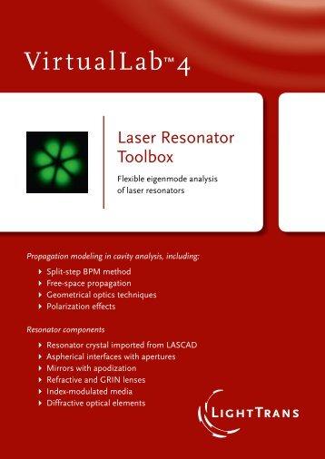 Resonator components - LightTrans VirtualLab