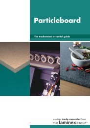 Particleboard - Trade Essentials - The Laminex Group