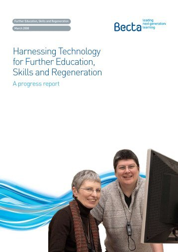 Harnessing Technology for Further Education, Skills and ...