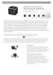 Mit dem vielseitigen 4-in-1-Drucker CLX-3185FW von Samsung ...