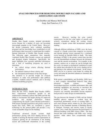 double skin facade case study