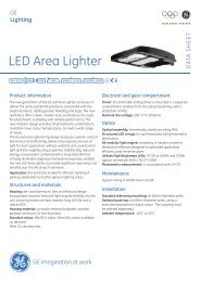 LED Area Lighter