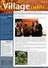 bulletin municipal - novembre/décembre 2011 - Commune d ...