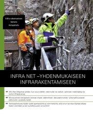 Infra Net esite 2012 - Rakennustieto Oy