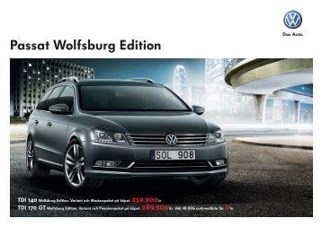 VW 926 Passat Wolfsburg Edition.indd - Volkswagen