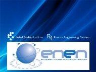 Presentation given by ENEN - ENEN Association